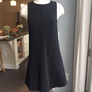 Black Sleeveless Mini Dress